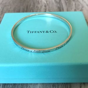 Tiffany & Co sterling silver cuff bracelet